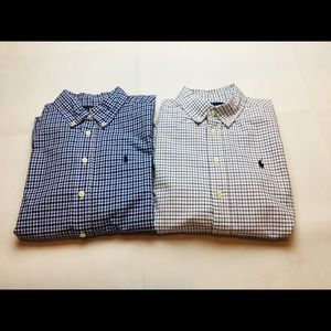 POLO Ralph Lauren button-down shirts